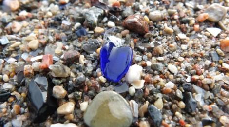 Meerglasfunde an der Ostsee