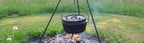"""Wilde Küche"" - Outdoor-Cooking am offenen Feuer"