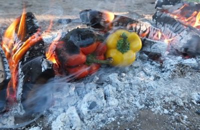 Wildes Kochen auf dem Recknitzberg